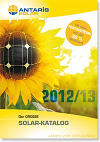 Jetzt downloaden: den aktuellen großen Solarkatalog 2012/2013