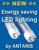 Energy saving LED lighting by ANTARIS