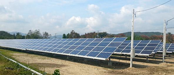 300kw Antaris Solar installation near Koriyama, Japan