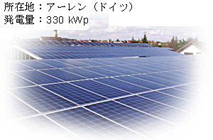 Antaris製Photovoltaik-Referenzanlage Holysov 1,244 MWp