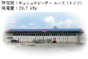Antaris製Photovoltaik Referenzanlage Aalen 330kwp