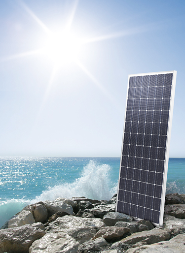 The ANTARIS SOLAR AS M series modules are exceptionally durable in salty conditions, making them ideal for installation in coastal regions.